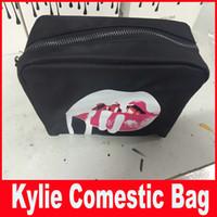 bags bundle - Kylie Jenner bags Cosmetics Birthday Bundle Bronze Kyliner Copper Creme Shadow Lip Kit Make up Storage Bag in stock