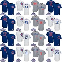 Wholesale MLB Chicago Cubs jerseys World Series Champions Flexbase baseball jerseys ARRIETA RIZZO BRYANT BAEZ SCHWARBER SANDBERG