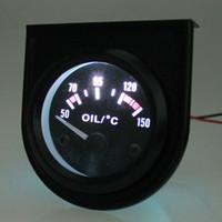 Ракушка масло Цены-Датчик температуры B744 Цифровой Механический масла с датчиком для автомобиля черный панцирь и белый свет высокой чувствительности легкой работы