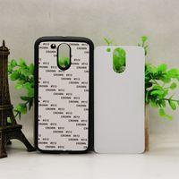 aluminium printing plates - 2D Hard TPU DIY sublimation phone case blank aluminium plate for MOTO G4 Heat Printed customized printing cover shell