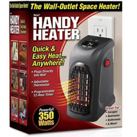 aluminum wire outlets - Handy Heater The Wall outlet Space Heaters Plug In Heating Apparatus Personal Heats Booster For Home Office Quick Easy Heat Anywhere dh