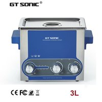 Wholesale 3L W stainless steel Dental instruments ultrasonic cleaning machine with timer and heater ultrasonic tank GT SONIC P3