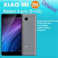 Qualcomm vidéo Avis-Original Xiaomi Redmi 4 Pro Téléphone Portable Qualcomm Snapdragon 625 Octa Core 3 Go RAM 32 Go ROM 5 pouces 1080P Fingerprient ID 4100mAh