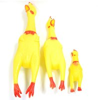 Wholesale New Arrival Dog Toys YJY Squeaking Chicken Pet Puppy Toy Honking Chicken for Dogs Pet Chew Squeaker Squeaky Toy