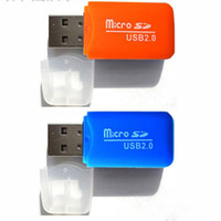 Wholesale High Speed Mini USB Micro SD TF T Flash Memory Card Reader Adapter