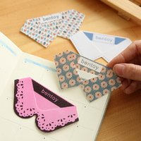 Wholesale New Cute Kawaii PVC Collar Bookmarks Novelty Products Items Creative Gift Korean Stationery