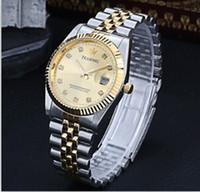 Wholesale Men Full Steel Watch Quartz business men brand Women s watches stainless steel watch ladies watches women Rhinestone watches