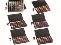 Wholesale 2016 Morphe eyeshadow Morphe color eyeshadow Natural Matte Eyeshadow palette O A B C D W T P style DHL