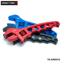 Wholesale TANSKY Adjustable AN Wrench Hose Fitting Tool Aluminum Anodized Spanner AN3 AN4 AN6 AN8 AN10 AN TK AW001S