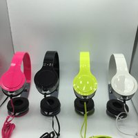 Wholesale New spot direct sales headset Mini Gift folding promotional MP3 cable headset