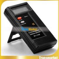 Wholesale Digital Electromagnetic Radiation Detector radiation Sensor indicator EMF Meter Dosimeter Tester DT Professional Digital LCD Electromagn