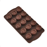 Wholesale 50g Manufacturers selling chocolate cake mold silicone ice lattice mold even Doug baking cakes