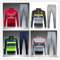 Men arsenal mix - 16 Arsenals gray sweater tracksuit Sportswear training Suits men s Clothes Trackring suits Male Hoodies mix order