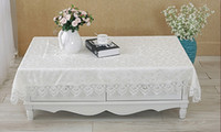 Wholesale Elegant Polyester Jacquard Lace Tablecloth For Wedding Party Home Table Linen Cloth Cover Textile Decoration