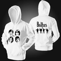 beatles hoodie - Spring Autumn sweatshirt Hoodies The Beatles Rock thin Sweatshirts women men Hoody Punk Rock Cosplay Costume Coat