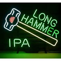 arts crafts hammered - New Red Hook Long Hammer Ipa Glass Neon Sign Light Beer Bar Pub Arts Crafts Gifts Lighting quot