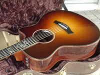 Wholesale Solid top rosewood back and sides Ebony fingerboard ce acoustic guitar Top Quality for Ray
