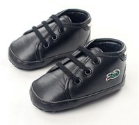 Wholesale Baby boys Shoes Color Leather Crocodile Popular Infant Toddler Shoes Age Month First Walker Shoes bebe Anti Slip Footwear