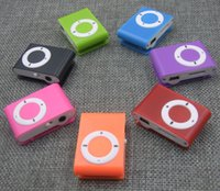 Wholesale 2016 New Arrival Mini Fashion Clip Sport USB Micro SD TF Card Button MP3 Music Player Pink Blue Green Black Red Purple Orange