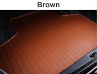 ats weather - Custom fit car trunk mat for Cadillac ATS CTS XTS SRX SLS Escalade D car styling all weather tray carpet cargo liner