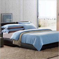 Wholesale Luxury cotton flax Bedding sets Duvet cover cotton fabric Sheet sets fitted cover Bedding sets