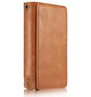 apple purse - B02 N Iphone7 mobile phone shell apple Plus Multifunctional Black Vintage Purse case