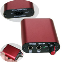 Wholesale Mini Tattoo Power Supply Red tattoo power supply for tattoo
