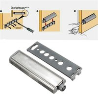 Wholesale 4Pcs Cabinet Door Latch Push Opening System With Plastic Head Damper Buffer