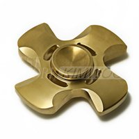 gold big designs - 2017 New Design Fidget Spinner HandSpinner Hand Spinner Finger EDC Toy For Decompression Anxiety Stainless Steel Metal Pure Copper Toys