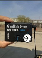 Wholesale MHz MHz air band radio receiver aviation band receiver for Airport Ground free ship