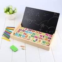 alphabet teaching games - Kids Number Calculate Game Toys Educational Wooden Maths Toys Children Preschool Teaching Counting Learning Count Sticks Gift