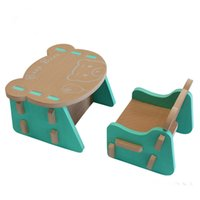 Wholesale Children s environmental security and chairs the Berenstain Bears children puzzle mats EVA home furniture puzzle tables and chairs