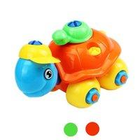 Wholesale Best seller Christmas Gift Disassembly Turtle Car Design Educational toys for children vob51231