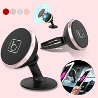 air vent mount kit universal - Universal Two in One Car Holder Rotation Dual Purpose Magnetic Car Mount Kit Sticky Air Vent Stand Holder For Mobile Cell Phones