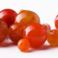 Wholesale 20pcs Agate Stone Agate Beads Jade Natural Stone Orange Red Stripe Agate Round Loose Beads Fashion Jewelry Bracelet Making