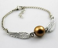 beauty dive - Fashion New Silver Imitation Pearl Angel Wings Jewelry Dove Peace Bracelet for Women Lady Beauty Perfect Gift B2045