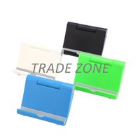 Wholesale For Tablet and Smartphone Universal Foldable Mobile Phone Holder Stand Mount Support for iPhone iPad Stand