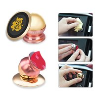 Wholesale The fashionable Magnetic Car Mount Phone Holder Degree Rotatable Mobile Phone Stents Mobile Phone Support