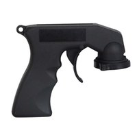 automotive spray gun - Black car styling portable plastic dip handle spray gun rim membrane spray gun tools labor saving Automotive Car colors tool
