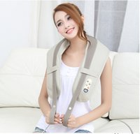 Wholesale 2016 newborn care neck massager muscle stimulator of body massager electric massage shawl