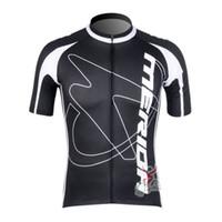 Manga caliente de ciclo de ciclo de la camisa de la manga de Jersey de Mérida 2017 Tour de francia de los hombres que completa un ciclo la ropa de ciclo de la bici de la ropa del ciclismo de la ropa de la bici B2305