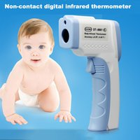 adult fever - Brand Electronic LCD Infrared Thermometer Body For Children Non Contact Medical Fever Forehead Digital Laser Thermometer Baby