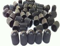 Wholesale motor caps Black Plastic Dust Valve Caps Bike Car Wheel Tyre Van Covers Seal Air Motorcycle for schrader valve