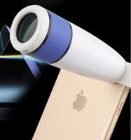 Grossiste Universal Clip 12X zoom télescope téléphones portables lentille téléobjectif pour Wiko Highway Star 4G, Wiko Getaway, Wiko Rainbow Lite 4G