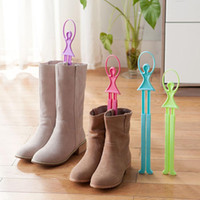 Wholesale New Qualified Girl Ballet Scalable Tree Shoes Table Shoe Rack Long Boots Stays Folder Q018 Home Decoration