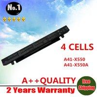 Wholesale Wholesales New cells Laptop battery For ASUS A450 A550 F450 F552 P450 X450 X550 A41 X550 A41 X550A