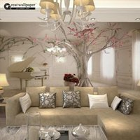 beautiful sound - Custom any size D wall mural wallpapers for living room Modern fashion beautiful new photo murals tree wallpaper