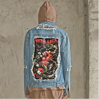 Cheap Men Design Jean Jacket | Free Shipping Men Design Jean ...