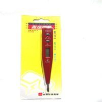 Wholesale Manufacturers selling electronic induction test pencil multi function digital with lamp test pencil display pencil test pen
