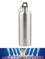 Wholesale NEW ml Outdoor Sports Stainless Steel Drinking Bottle for Bicycle Climbing Travel MYY